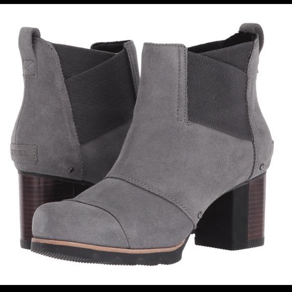 ba3e9e1b4ab NWT Sorel Addington Chelsea ankle boot